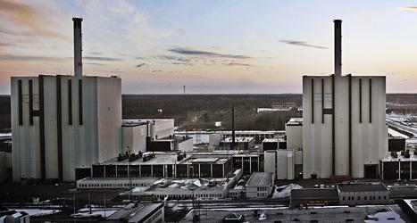Kärnkraftverket i Forsmark. Foto: Tomas Oneborg/Scanpix.