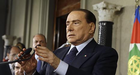 Silvio Berlusconi fuskade med skatten. Foto: Gregorio Borgia/Scanpix