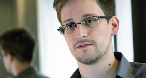 Edward Snowden tyckte inte om att USA övervakade miljoner människor i hemlighet. Därför berättade han det för tidningarna. Foto: The Guardian/Scanpix.