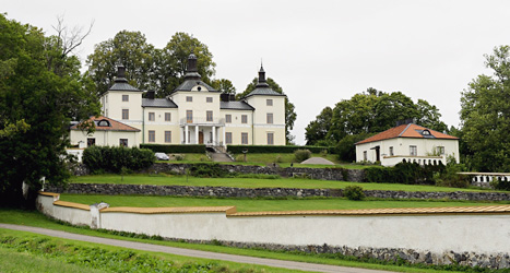 Stenhammar slott ligger utanför Flen. Foto: Pontus Lundahl/Scanpix.