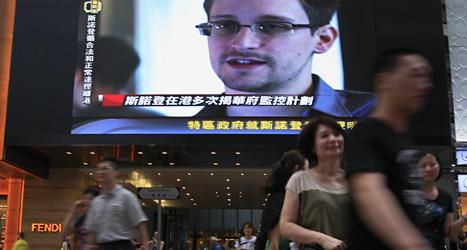 Edward Snowden avslöjade USAs övervakning av miljoner människor. Foto: Vincent Yu/Scanpix.