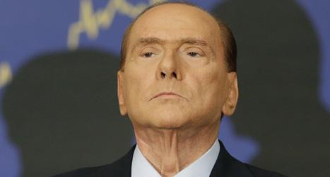 Silvio Berlusconi dömdes till fängelse i sju år. Foto: Alessandra Tarantino/Scanpix.