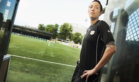 Therese Sjögran var den största överraskningen i Sveriges trupp till fotbolls-EM. Foto: Ola Torkelsson7Scanpix.