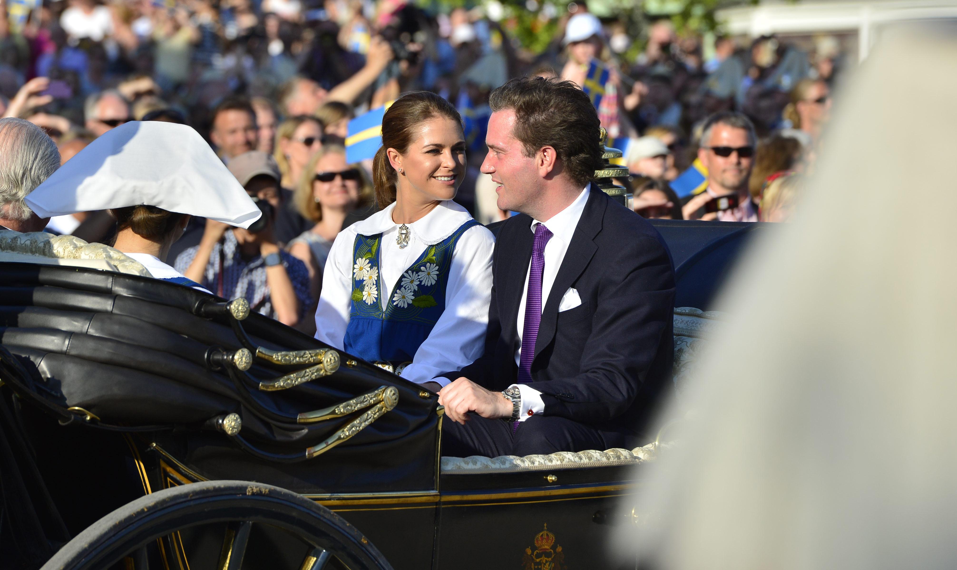 Madeleine och Chris O'Neill gifter sig. Foto: Henrik Montgomery/Scanpix.