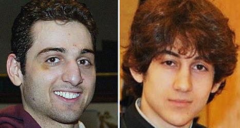 Bröderna Tamerlan Tsarnajev och Dzjochar Tsarnajev misstänks ha sprängt bomberna i Boston i april i år. Foto: AP/Scanpix