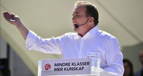 Stefan Löfven är ledare för Socialdemokraterna. Foto: Henrik Montgomery/Scanpix.