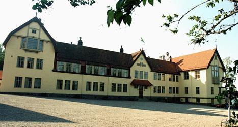 Elever har blivit misshandlade på skolan Lundsberg. Foto: Ulf Palm/Scanpix.