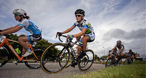 Emma Johansson cyklade i Vårgårda i augusti. I den tävlingen blev hon tvåa. Foto: Adam Ihse/Scanpix.