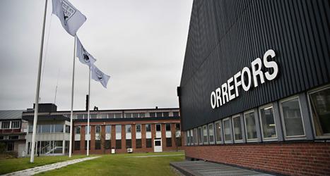 Glasbruket Orrefors kommer att stängas. Foto: Lina Alriksson /Scanpix.