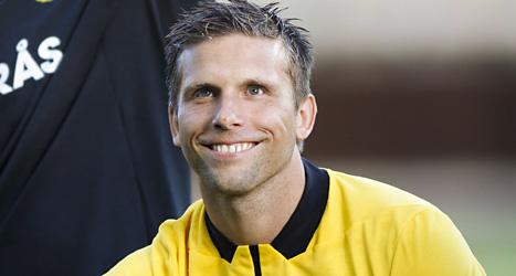 Anders Svensson spelar i Elfsborg. Laget får spela vidare i Europa League. Foto: Björn Olsson/Scanpix.