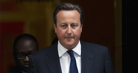 Storbritanniens premiärminister David Cameron har tvingats ändra sig. Landet kommer inte att anfalla Syrien. Foto: Matt Dunham/Scanpix.