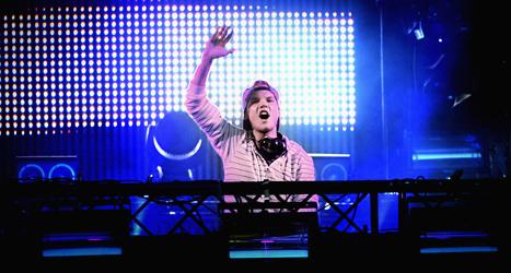 Artisten Avicii gör succé med sin nya skiva True. Foto: Erik Mårtensson/Scanpix.