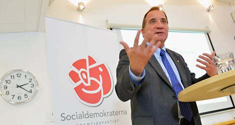 Stefan Löfven vill ta bort avdraget för läxhjälp. Foto: Jonas Ekströmer/Scanpix.