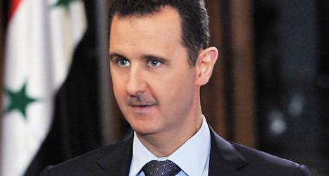 Syriens ledare Bashar al-Assad. Foto: Sana/Scanpix.