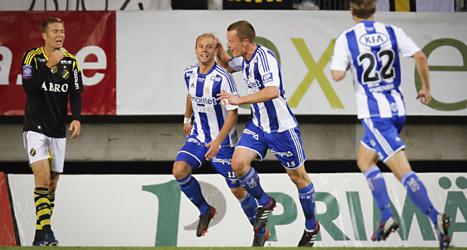 Göteborg vann med 3-1 över AIK i Allsvenskan i fotboll. Foto: Adam Ihse/Scanpix.