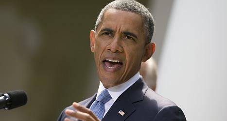 USAs president Barack Obama. Foto: Evan Vucci/Scanpix.