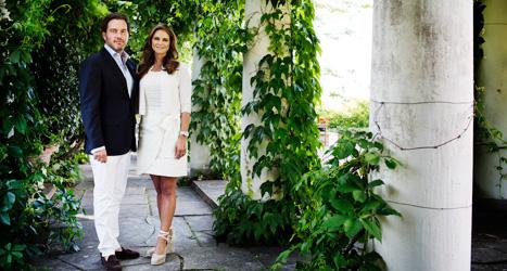 Prinsessan Madeleine och hennes man Chris O' Neill ska få barn nästa år. Foto: Linus Sundahl-Djerf/Scanpix.