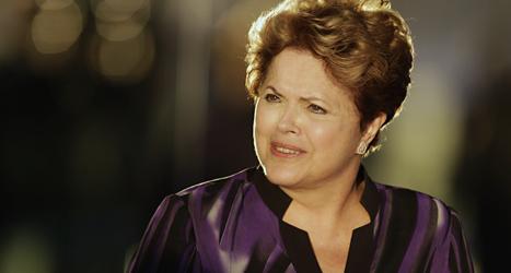 USA spionerade på Brasiliens president Dilma Rousseff. Foto: Eraldo Peres/Scanpix.