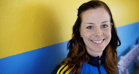 Lotta Schelin är Europas näst bästa fotbollsspelare. Foto: Jessica Gow/Scanpix.