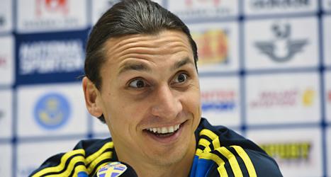 Zlatan är den idrottare som det skrivs allra mest om i svenska tidningar. Foto: Anders Wiklund/TT.