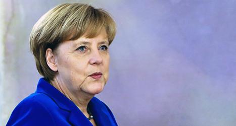 Angela Merkel är Tysklands ledare. Foto: Marcus Schreiber/TT