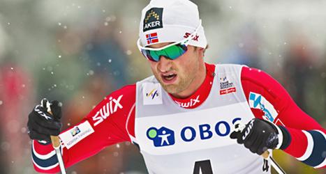 Petter Northug kan träna igen. Foto: Vegard Grött/TT