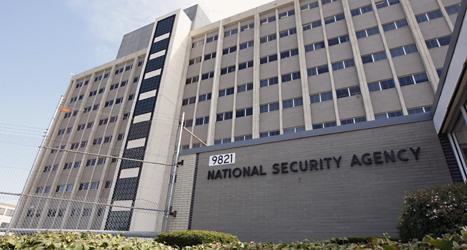 Här är kontoret där USAs spioner arbetar. Foto: Charles Dharapak/TT