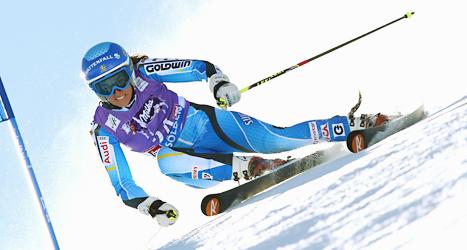 Maria Pietilä Holmner var bäst av svenskorna i helgens tävling.  Foto: Allesandro Trovati/Scanpix.