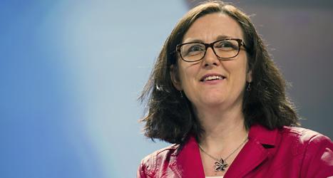 Cecilia Malmström är Sveriges EU-kommissionär. Foto: Geert Vanden/TT.