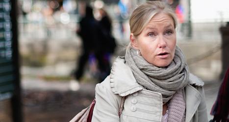 Anna Johansson är ordförande för Socialdemokraterna i Göteborg. Foto: Björn Larsson Rosvall/TT.