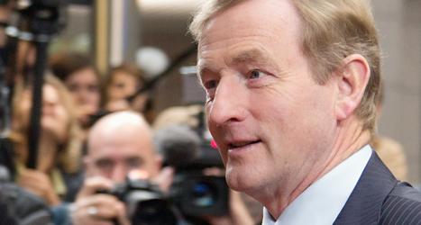 Irlands premiärminister Enda Kenny säger att landet nu klarar sig utan hjälp från EU. Foto: Virginia Mayo/TT.