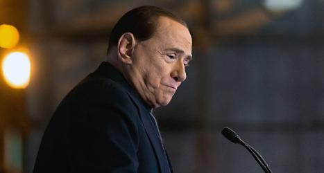 Politikern Silvio Berlusconi får inte längre vara med i Italiens riksdag. Foto: Allesandro Tarantino/TT