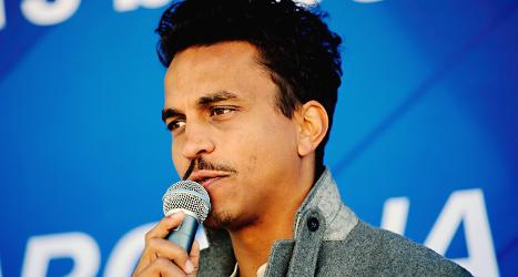Artisten Timbuktu ska få ett pris för sitt arbete mot främlingsfientlighet. Foto: Jens L'Estrade/TT.