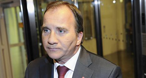 Socialdemokraternas ledare Stefan Löfven. Foto: Erik Mårtensson/TT.