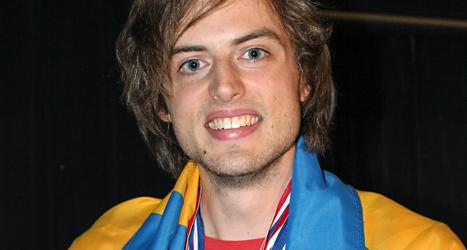 Jonas von Essen vann VM-tävlingen i minne. Foto: Idriz Zoga/TT