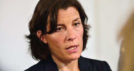 Sveriges försvarsminister Karin Enström. Foto: Henrik Montgomery/TT