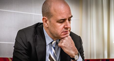 Statsminister Fredrik Reinfeldts regering förlorade en viktig omröstning i riksdagen. Foto: Magnus Hjalmarsson Neideman/TT.