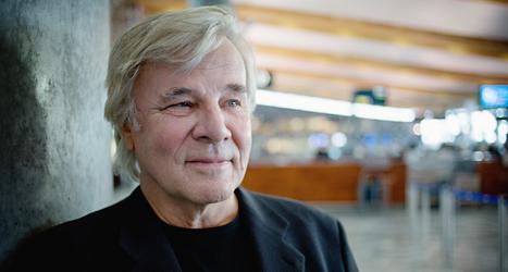 Jan Guillou är arg. Paul Frigyes slarvade och skrev fel om flera saker i boken om Jan Guillou. Foto: Thomas Winjefyijord/TT