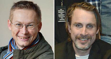 Magnus falkehed och Niclas Hammarström är fria. Foto: Leif R Jansson och Jaques Demarthon/TT