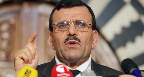Ali Larayedh har slutat som premiärminister i Tunisien. Foto: Hasen Dridi/TT.