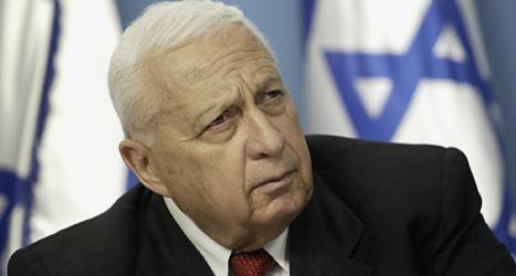 Ariel Sharon var en av Israels viktigaste politiker. Foto: Oded Balilty/TT.
