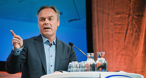 Folkpartiets ledare Jan Björklund. Foto: Henrik Montgomery / TT