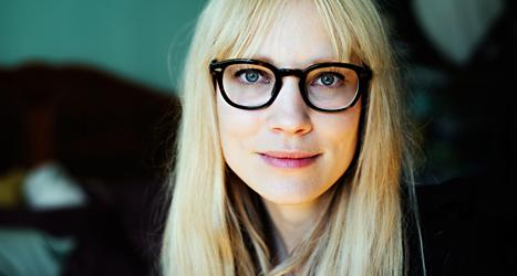 Skådespelerskan Moa Gammel. Foto: Erik Abel/TT