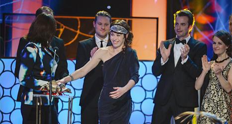 Återträffen av Anna Odell var årets bästa film 2013. Foto: Jessica Gow/TT.