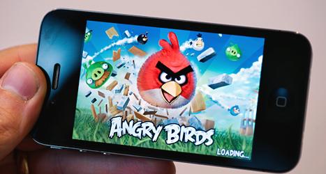USA har använt använde spelet Angry Birds för att spionera på människor. Foto: Jonas Ekströmer/TT.
