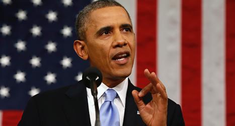 USAs president Barack Obama. Foto: Charles Dharpak/TT.