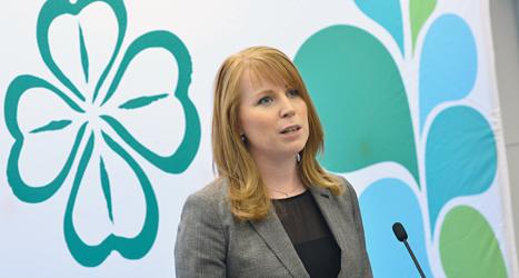 Annie Lööf är ledare för Centerpartiet. Foto: Jonas Ekströmer /TT