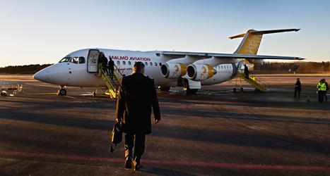 Svenskarna flyger allt mer. Foto: Lars Pehrson/TT.
