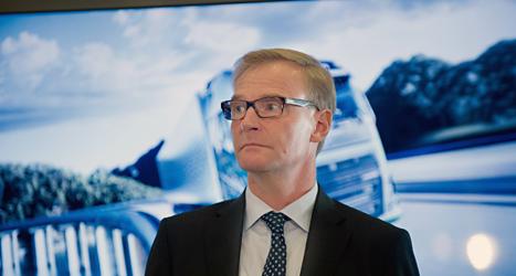 Volvos chef Olof Persson. Foto: Björn Larsson Rosvall/TT.