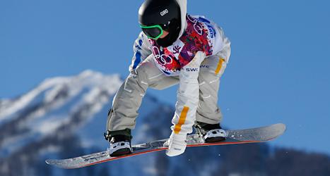 19-årige Sven Thorgren har chans att ta Sveriges första medalj i OS i Sotji. I morgon, lördag, tävlar han i finalen i slopestyle. Foto: Sergej Grits/TT.